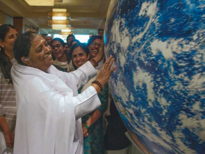 Amma touches the world