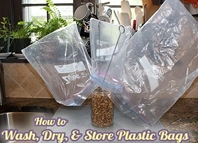 Re-using Plastic Bags