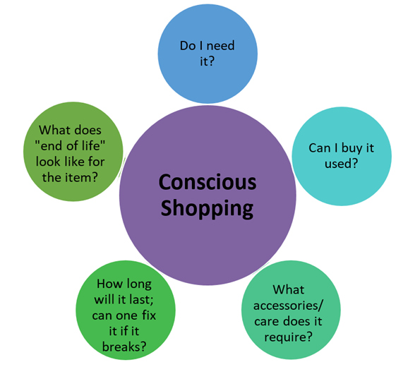 Conscious shopping decision tree